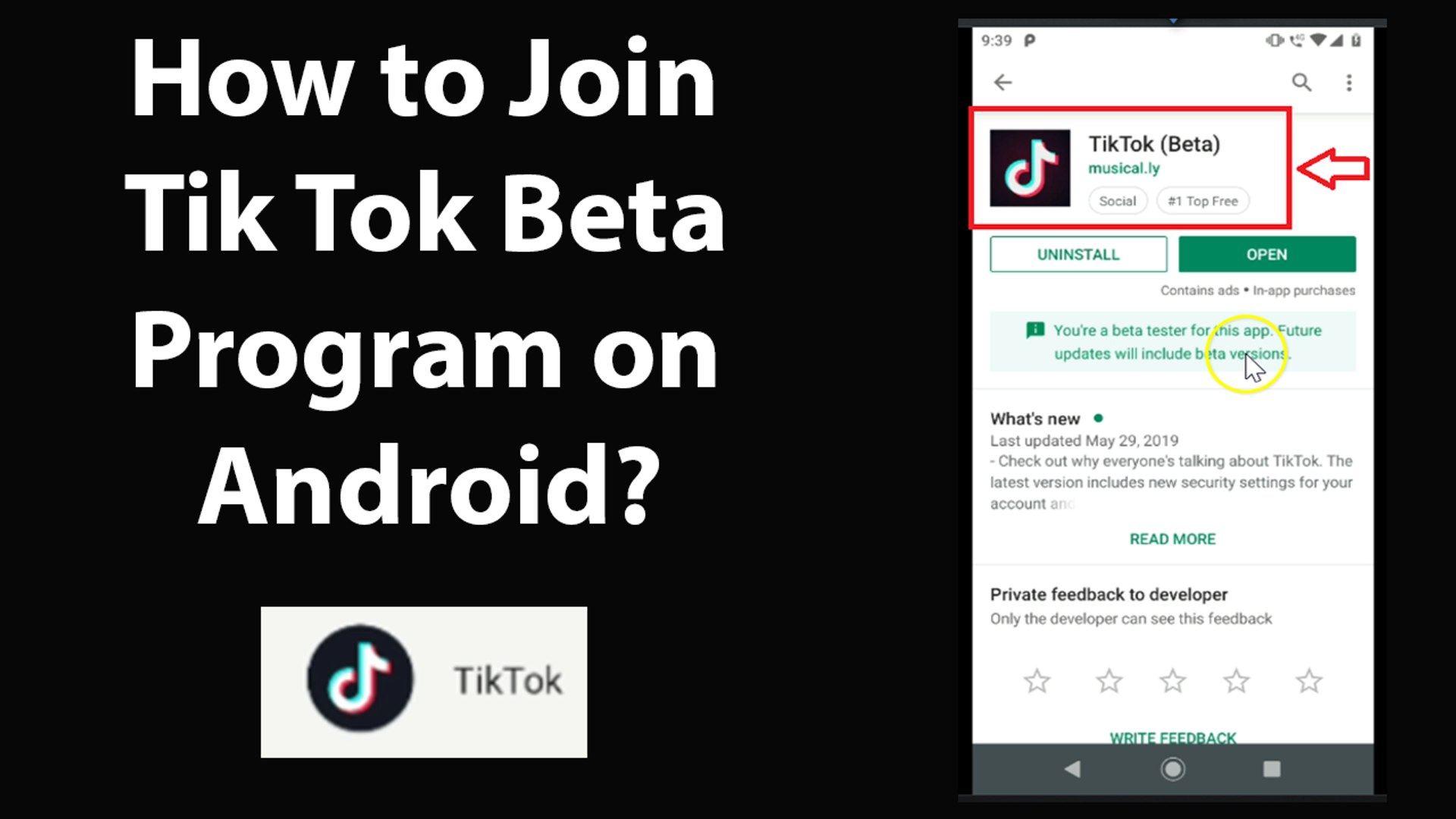 How to Join Tik Tok Beta Program on Android?