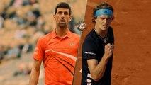 Roland-Garros 2019 : Le résumé de Novak Djokovic - Alexander Zverev