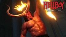 Hellboy (2019 Movie) New Trailer Red Band  David Harbour, Milla Jovovich, Ian McShane