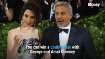 Win a Double Date with George and Amal Clooney