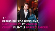 """Hapsatou Sy et Vincent Cerutti : Un couple """"électrique et romantique"""""""