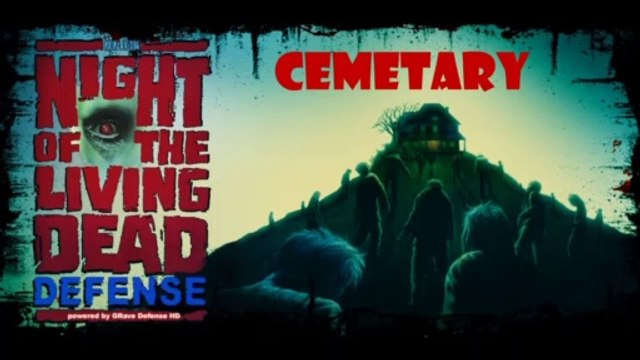 Playing Night of the Living Dead Defense  -  Cemetery (Android)