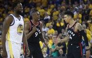 Raptors Defeat Shorthanded Warriors in NBA Finals Game 3