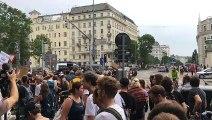 Demo gegen Polizeigewalt: Start vor Verkehrsministerium