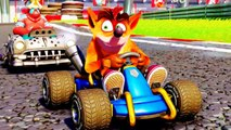CRASH TEAM RACING NITRO FUELED Bande Annonce de Gameplay