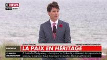 75 ans du débarquement : le Premier ministre Justin Trudeau rend hommage aux soldats canadiens