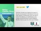 Medallista Nabor Castillo acusa que le bajaron su beca | Noticias con Francisco Zea