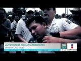Autoridades mexicanas detienen a cientos de migrantes centroamericanos | Noticias con Francisco Zea