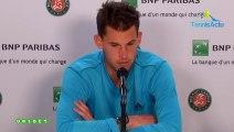 "Roland-Garros 2019 - Dominic Thiem : Dominic Thiem: ""A colossal challenge against Novak Djokovic"""