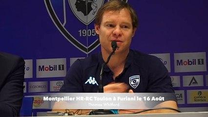 Rugby : Montpellier-RCToulon le 16 Août à Furiani