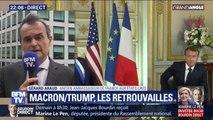 """L'ancien ambassadeur de France aux États-Unis dénonce une """"dramatisation excessive"""" de la relation entre Macron et Trump"""