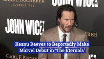 Keanu Reeves Will Be A Part of The Marvel Universe