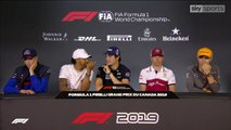 F1 2019 Canadian GP - Thursday (Drivers) Press Conference
