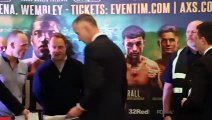 LAST ONE BEFORE MAURICE HOOKER? - JACK CATTERALL v OSCAR AMADOR **OFFICIAL** WEIGH-IN VIDEO