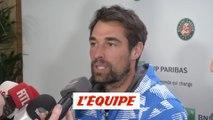 Chardy «Je connais Fabrice depuis plus longtemps que ma femme» - Tennis - Roland-Garros (DH)