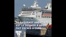 Ce paquebot est le dernier navire américain à avoir fait escale à Cuba après les nouvelles sanctions