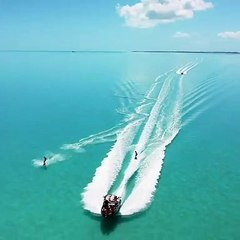 Wakeboarding in the Turks and Caicos
