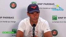 "Roland-Garros 2019 - Rafael Nadal : ""Roger Federer..., my biggest rival of all my career"""