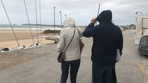 La tempête Miguel souffle sur Saint-Malo
