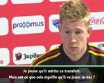 """Transferts - De Bruyne : """"Hazard mérite ce transfert au Real"""""""