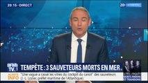 """""""Il faudrait rendre un hommage national"""" aux sauveteurs en mer décédés, demande Dominique Bussereau"""