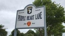 75e D-Day. Inauguration de la Purple Heart Lane à Carantan