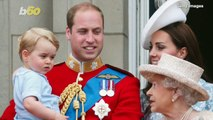 Royals' First Time Attending Trooping the Colour