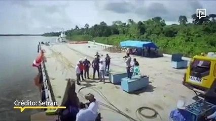 Setran iniciará obras de instalação da ponte do rio Moju