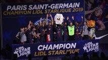 PSG Handball - Cesson : la joie d'après-match