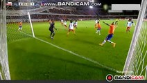 Amazing Goal Fuenzalida (2-1) Chile vs Haiti