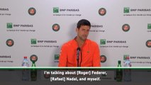 Djokovic delighted to keep rivalry with Federer and Nadal going