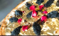 Most Expensive Pizza in the World with Edible Gold Flake Topping