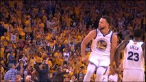 Curry's behind-the-back 3-pointer