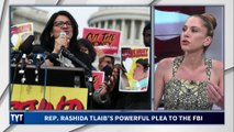 Rashida Tlaib's Emotional Plea To FBI