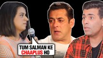 Kangana Ranaut Sister Rangoli Calls Karan Johar Salman's CHAAPLUS