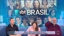 Encerramento Fofocalizando (13 anos de SBT Brasil) (15/08/2018) (16h17) (Aniversário do SBT Brasil)   SBT 2019