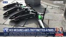 La maire de Paris Anne Hidalgo présente une série de mesures anti-trottinettes