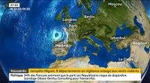 Tempête Miguel : Suivez minute par minute cette tempête qui va toucher la France - Un phénomène inhabituel à cette période de l'année