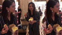 Sunny Leone abuses her friend at Salman Khan's Bharat premier; Watch Video | FilmiBeat
