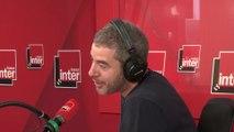 Guillaume Nery répond aux questions d'Ali Baddou sur France Inter
