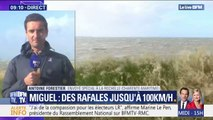 Tempête Miguel: à La Rochelle les rafales atteignent déjà les 70 km/h
