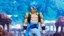 Dragon Ball Super - La figura gigante de Gogeta Super Saiyan Blue