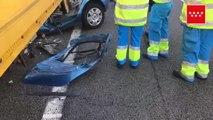 Un joven de 20 años muere tras empotrar su coche contra un camión en la M-50