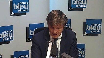 Bordeaux : Nicolas Florian sur le stockage des poids-lourds