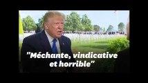 """Donald Trump qualifie Nancy Pelosi de """"méchante, vindicative et horrible"""""""