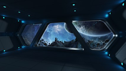 Spaceship Flight - Deep Bass WHITE NOISE   10 HOURS - for Study, Homework, Deep Sleep, Offices and SPA, Relaxing White Noise