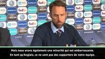 """Angleterre - Southgate condamne les fans : """"Une minorité ne reflète pas l'image de notre pays"""""""