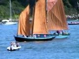 La Semaine du Golfe a Vannes, c'est 1 400 bateaux qui tirent des bords dans tout le Golfe du Morbihan.