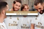 Le maillot domicile du Real Madrid pour la saison 2019/2020