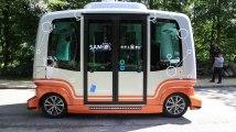 La Stib teste des navettes électriques autonomes